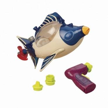 Okręt podwodny z wiertarką - do samodzielnego montażu B. Toys