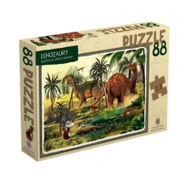Dinozaury. Puzzle