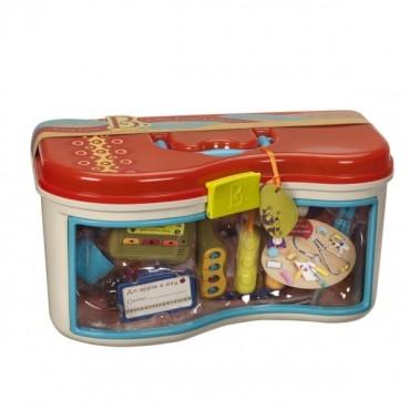 Zestaw lekarski - 14 akcesoriów Doctor Set, Wee MD B. Toys