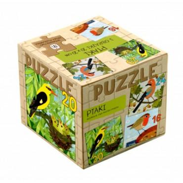 Ptaki. Puzzle 3w1