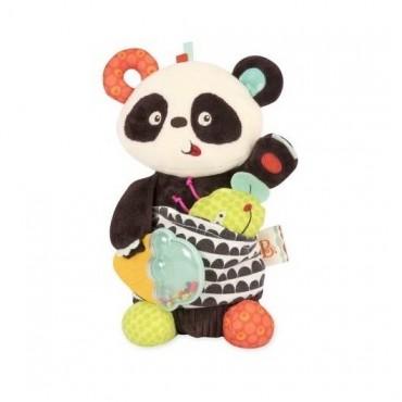 Pluszowa PANDA z niespodziankami sensorycznymi Party Panda B. Toys