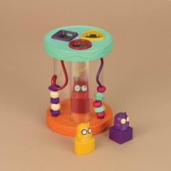 Sorter kształtów z ciekawym efektem dźwiękowym Hooty-Hoo B. Toys