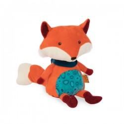 Pluszowy LISEK gadający gagatek Happy Yappies Pipsqueak B. Toys