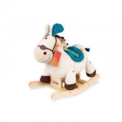 PLUSZOWY KOŃ na biegunach Rodeo Rocker Banjo B. Toys