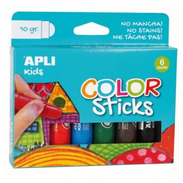 Farby w kredce - 6 kolorów...