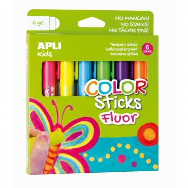 Farby w kredce neonowe - 6...