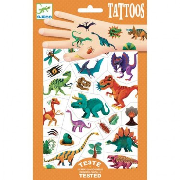 Tatuaże Klub Dino Djeco