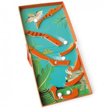 Magnetyczne puzzle Dinozaur...