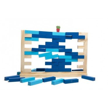 Drewniana gra Mur XL BS Toys