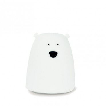 Lampka miś mały biały Rabbit&Friends