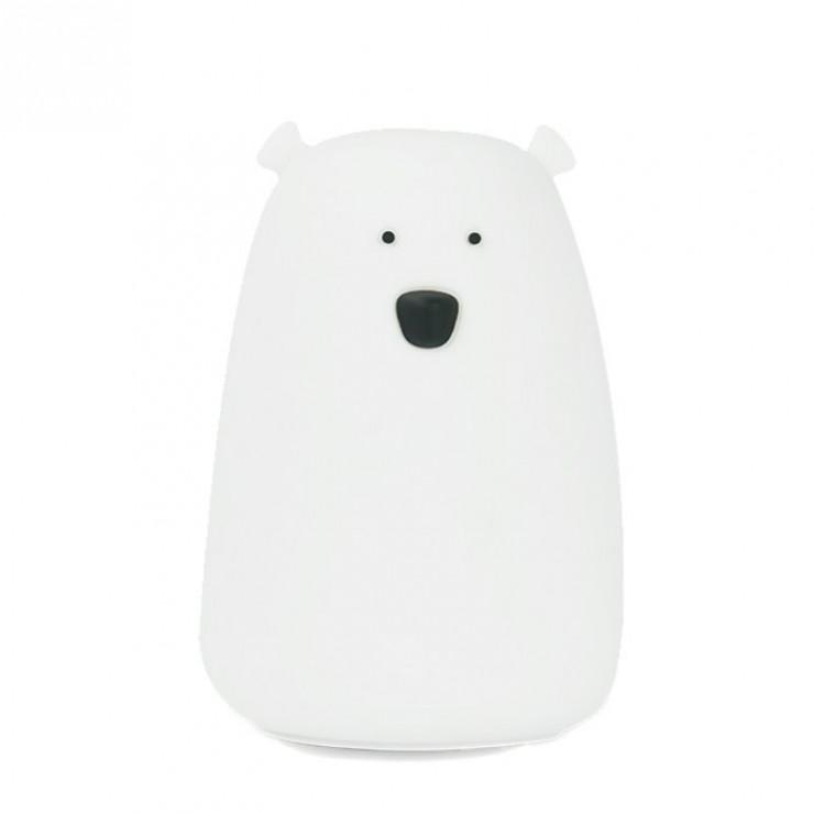Lampka miś duży biały Rabbit&Friends