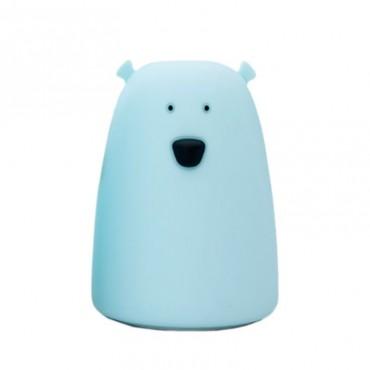 Lampka miś duży niebieski Rabbit&Friends
