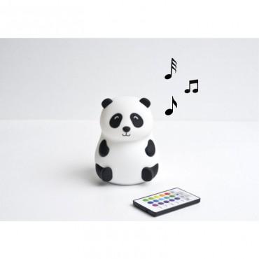 Lampka Panda z głośniczkiem Rabbit&Friends