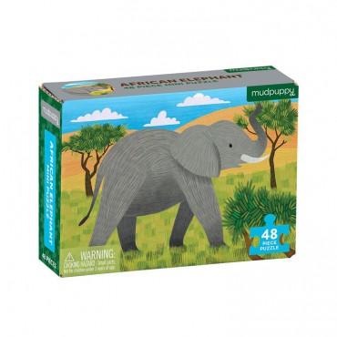 Puzzle mini Słoń afrykański...