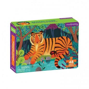 Puzzle mini Tygrys...