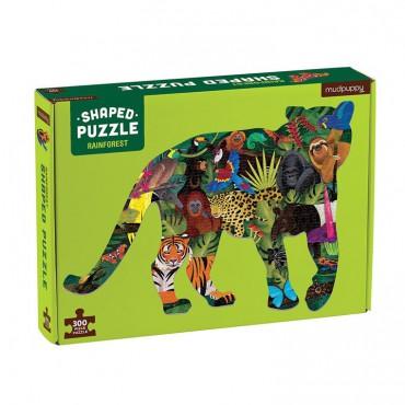 Puzzle konturowe tygrys Las...