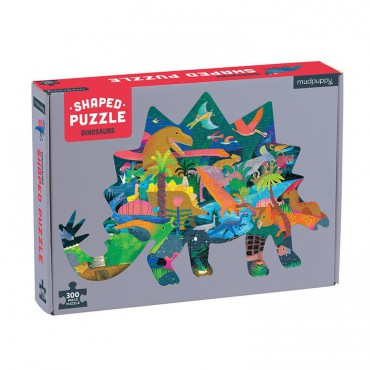 Puzzle konturowe Dinozaury...
