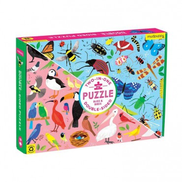 Puzzle dwustronne Robaki i...