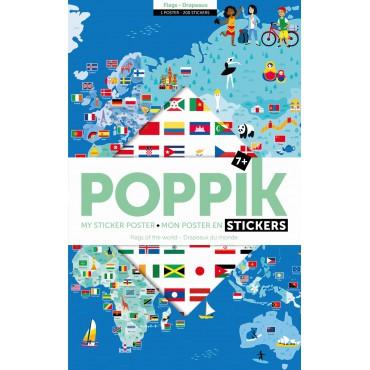 Wyklejanka Flagi Świata Poppik