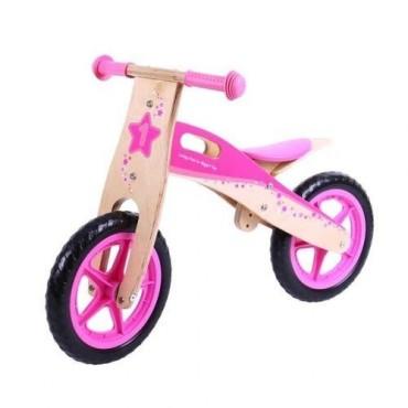 Rower biegowy różowy BigJigs