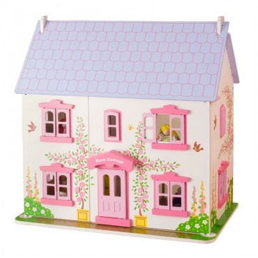 Różany domek BigJigs