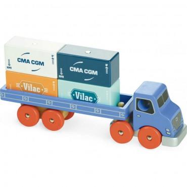 Ciężarówka do kontenerów Vilac