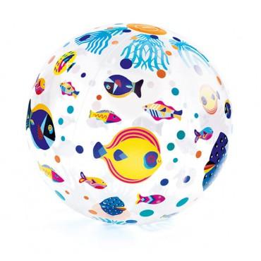 Piłka plażowa Ryby Djeco