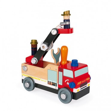 Drewniany wóz strażacki do...