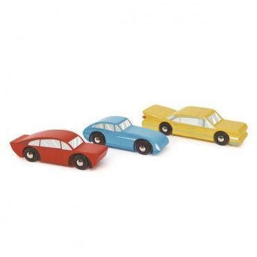 Drewniane samochody retro 3...