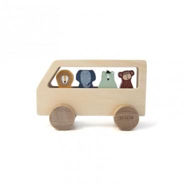 Animals Drewniany autobus...