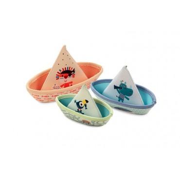 3 łódeczki do kąpieli...