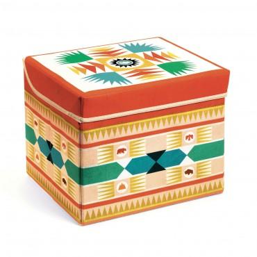 Materiałowe pudełko...