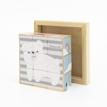PolarB Puzzle kostki 9...