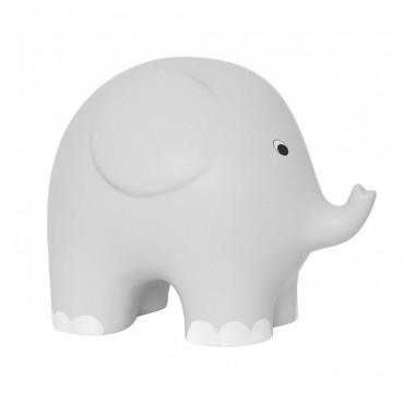 Duża skarbonka szary słoń...