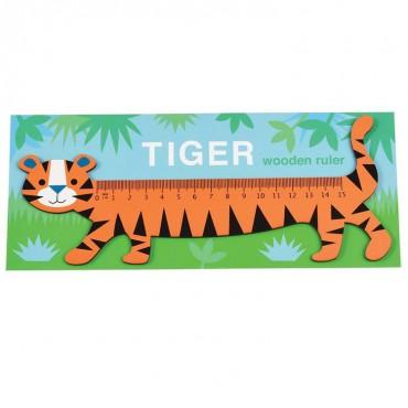 Drewniana linijka Tygrys...