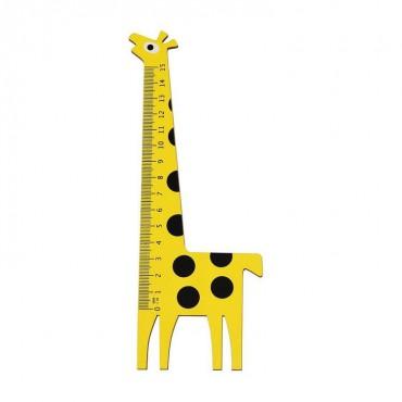 Drewniana linijka Żyrafa...