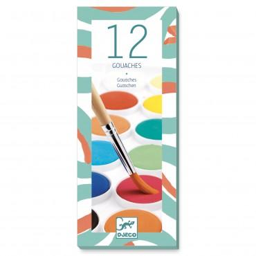 Farby 12 kolorów, klasyczne...