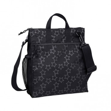 Lassig Casual Label Torba do Wózka Reflective Star black