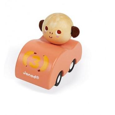 Drewniany samochodzik z...