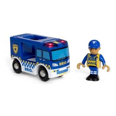 Wóz Policyjny z Dźwiękiem BRIO