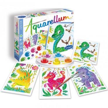 Aquarellum Junior Dinozaury...