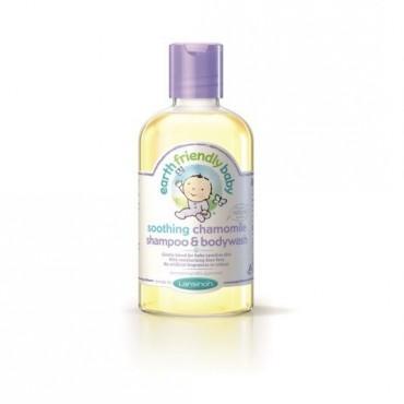 Earth Friendly Baby Organiczny szampon i płyn do mycia 2w1 o zapachu rumianku, 250ml