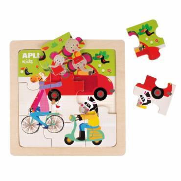 Drewniane puzzle - Samochód...
