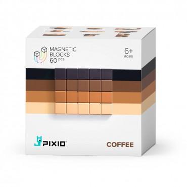 Klocki magnetyczne Pixio Coffee Abstract Series