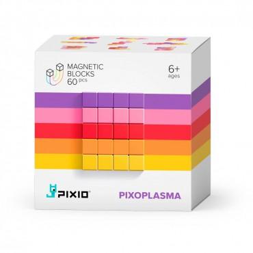 Klocki magnetyczne Pixio Pixoplasma  Abstract Series