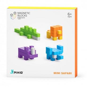 Klocki magnetyczne Pixio Mini Safari 137 Story Series