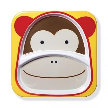 Talerz Zoo Małpa Skip Hop