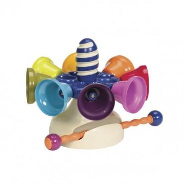 Karuzela dzwonków cymbałki olbrzymie CAROUSEL BELLS COLOSSALE B. Toys
