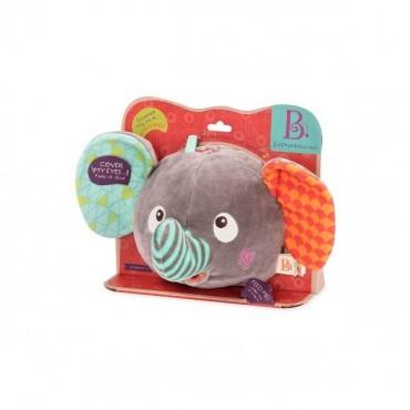Pluszowy Słoń wydający zabawne odgłosy B. Toys