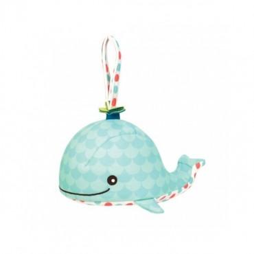 Szumiący i świecący Wieloryb dla niemowląt GLOW ZZZS WHALE B. Toys